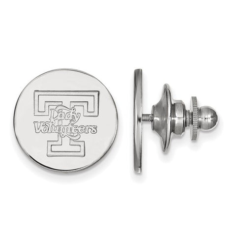 Tennessee Volunteers Lapel Pin 14k White Gold