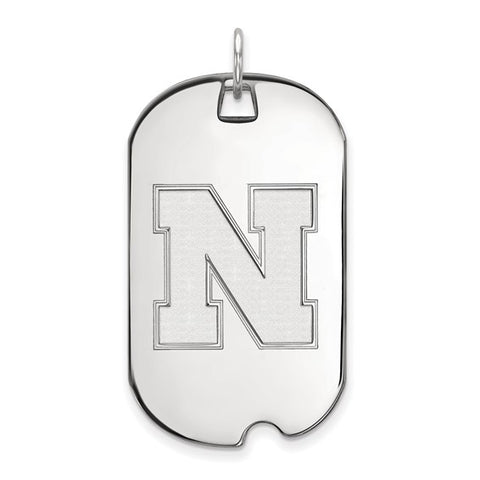 Nebraska Cornhuskers Large Dog Tag