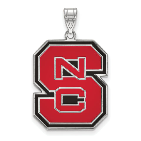 NC State Wolfpack XL Enamel Pendant