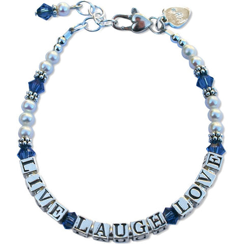 Live, Laugh, Love Bracelet