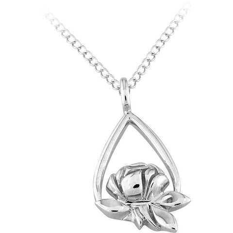 Memorial Tear Sterling Pendant