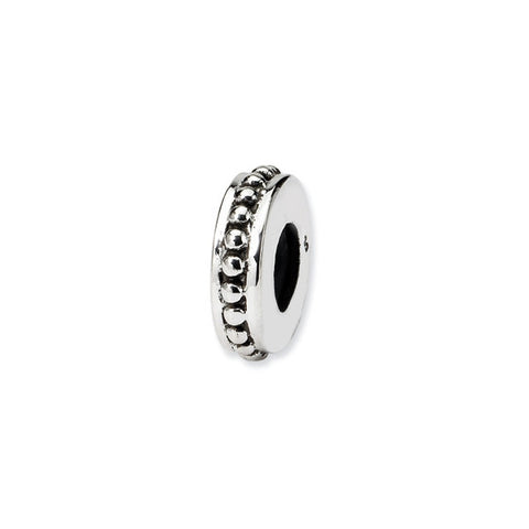 Sterling Silver Bead Spacer/Stopper - Narrow