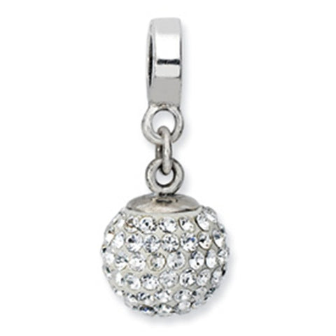 April Swarovski Birthstone Dangle