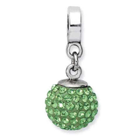 August Swarovski Birthstone Dangle