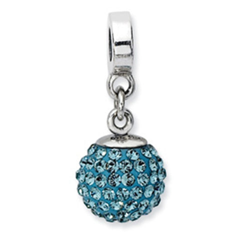 December Swarovski Birthstone Dangle