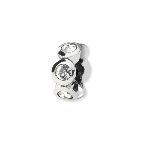 April Swarovski 6-Stone Bead