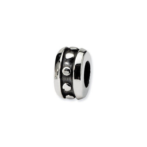 Sterling Silver Bead Spacer/Stopper - Wide