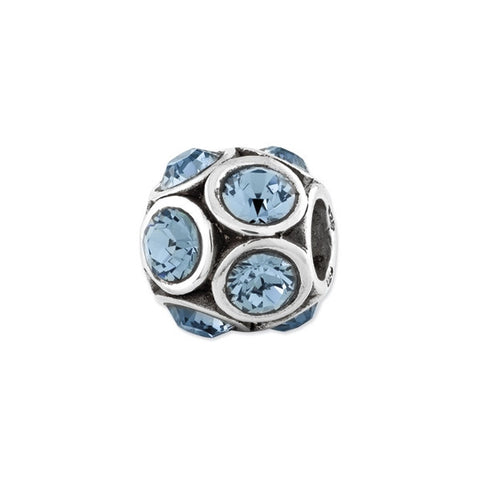 December Swarovski Birthstone Bead
