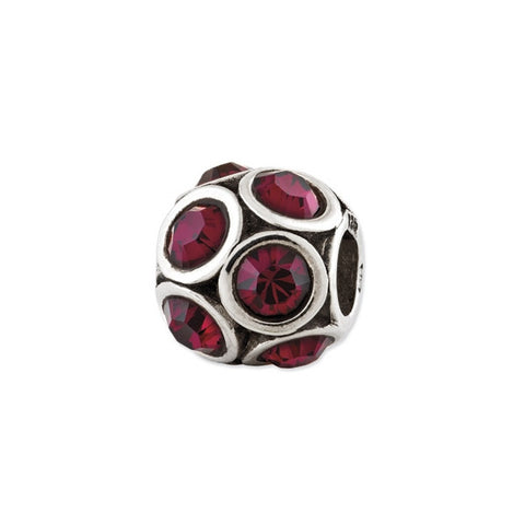 July Swarovski Birthstone Bead
