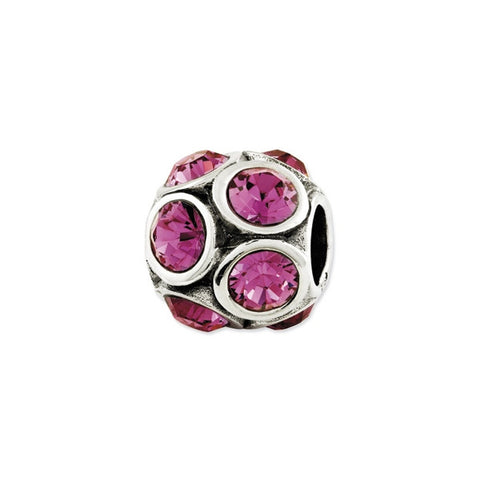 October Swarovski Birthstone Bead