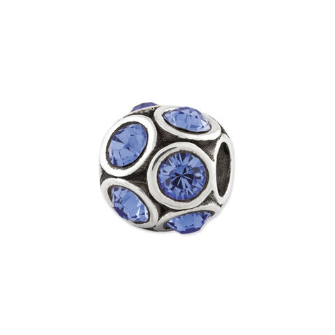 September Swarovski Birthstone Bead