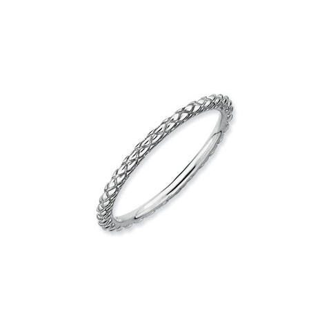 Wheat Pattern Spacer Ring