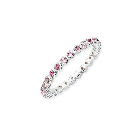 Mothers Stackable Birthstone Ring - Gemstone Infinity