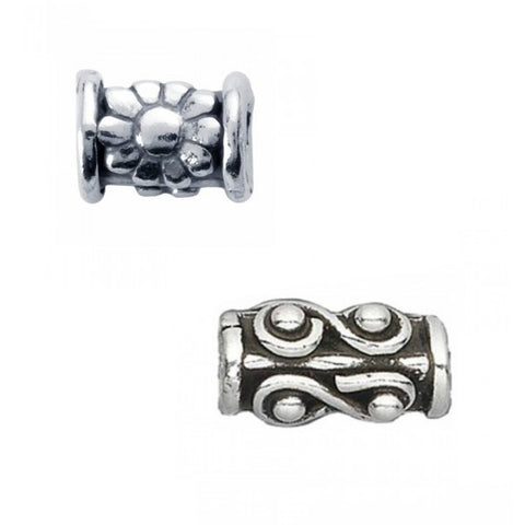Spacer Beads of sterling silver