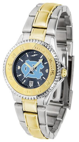 North Carolina Tar Heels Competitor Ladies Two-Tone AnoChrome Watch
