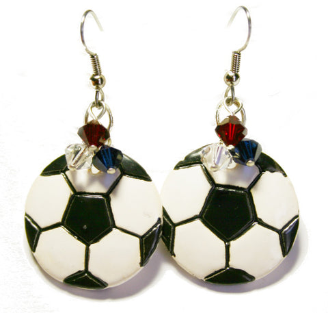 USA Soccer Earrings