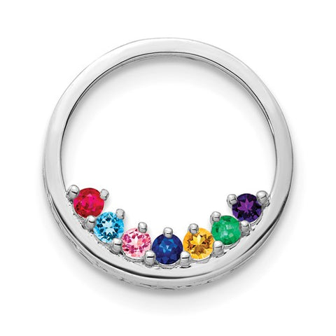 Birthstone Circle Slide