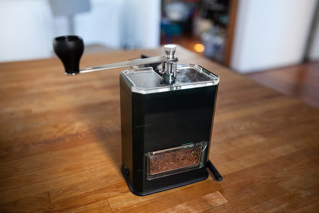 Hario Clear Coffee Grinder Review