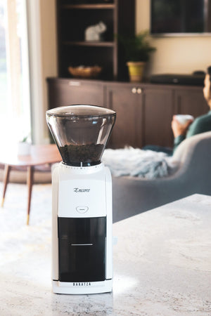 Baratza Encore Coffee Grinder - WHITE and BLACK