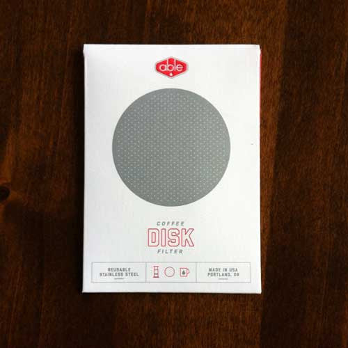 Able Stainless Steel DISK FINE for the Aerobie® AeroPress® coffee maker