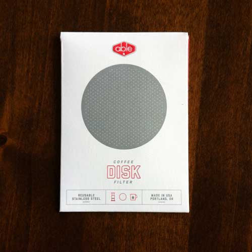 Able Stainless Steel DISK for the Aerobie® AeroPress® coffee maker