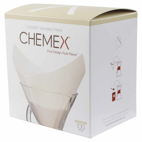 Chemex Pre-Folded Square Coffee Filter (100 Filters)
