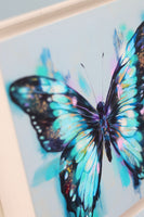 3 butterfly canvas prints