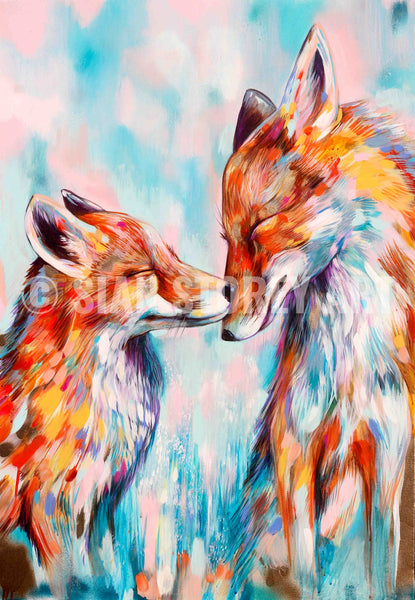 Because we need each other - Sian Storey Art