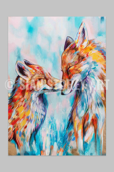 Because we need each other - signed print - available in A3 or A2