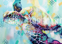 Spirit of the Sea - 4 turtle print collection - Sian Storey Art
