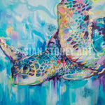 Into the Blue - Sian Storey Art