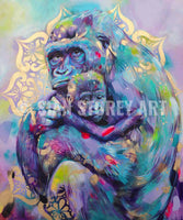 Strength - 25 x 30 inches SIGNED Canvas Print - Sian Storey Art