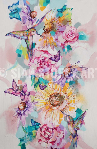 Wildflowers - Sian Storey Art