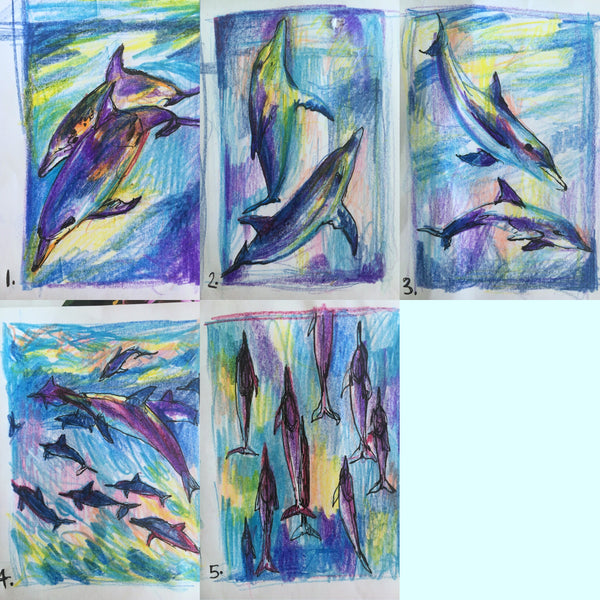 Dolphin Commission - Sian Storey Art
