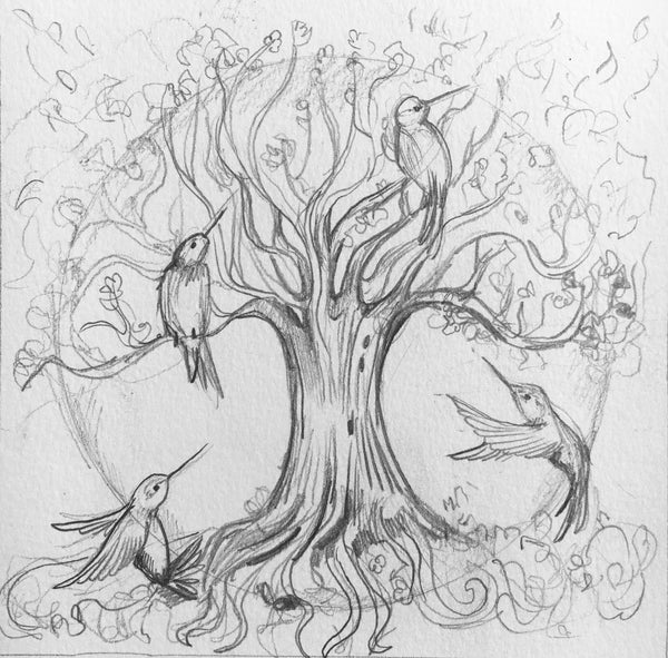 1st payment - Tree of Life Commission
