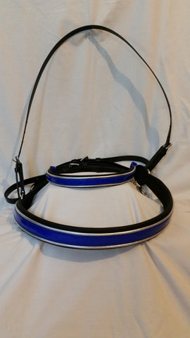 BREAST COLLAR WITH LEATHER BEADING, EXTRA PADDED