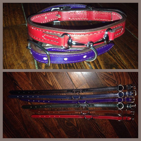DOG COLLAR, LEATHER