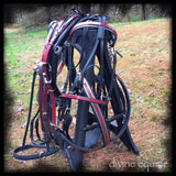 RACE HARNESS, luxury hand made in USA.