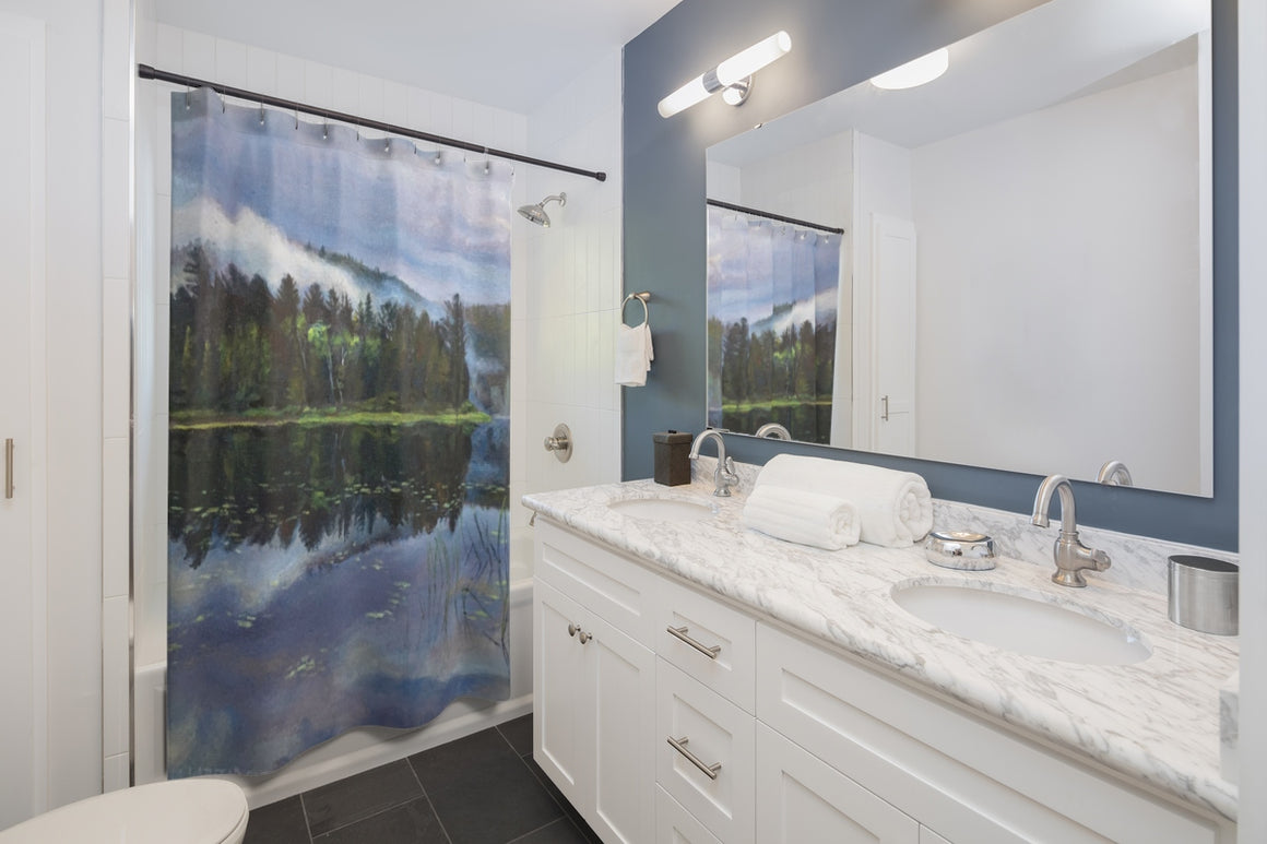 Robinson Lake Shower Curtain