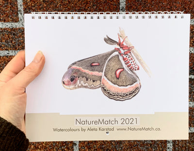 NatureMatch calendar 2021