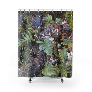 """Fern Pelt of the Frontenac"" Shower Curtains"