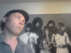 Airbrush Mural Painting of Fleetwood Mac - Rumors