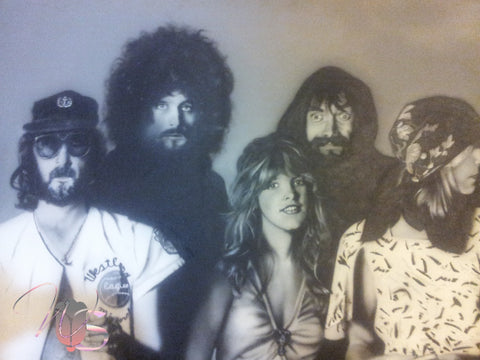 Fleetwood Mac Rumors Painting
