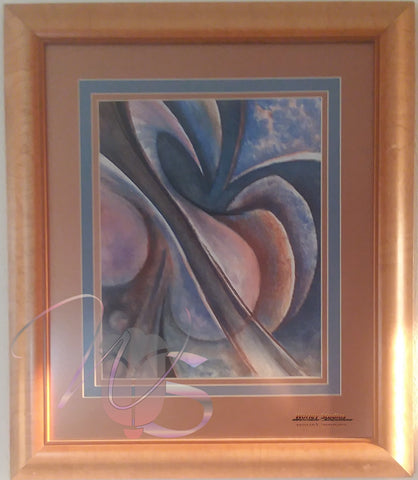 "Original Pastel: ""Creation"""