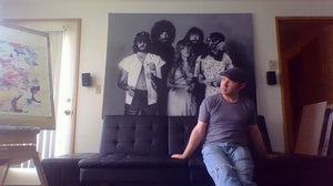 Fleetwood Mac Rumors - Airbrush Mural Painting