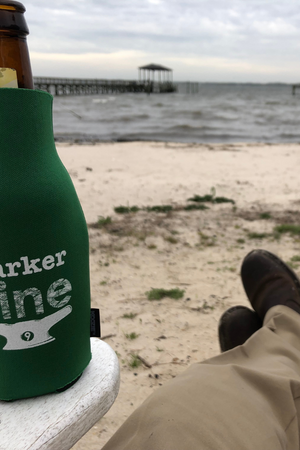 Marker Nine Long Neck Bottle Coozie