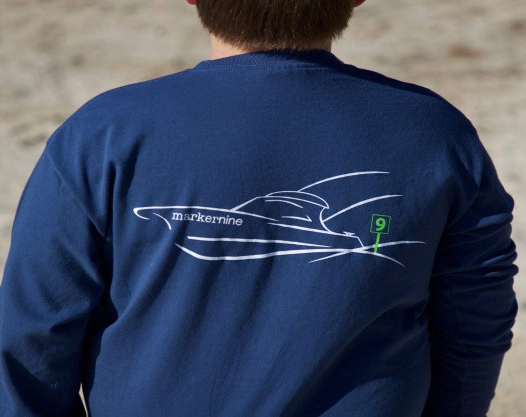 Classic Sportfishing Boat Long Sleeve T-Shirt