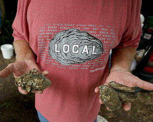 Oyster Eat Local Long Sleeve T-Shirt