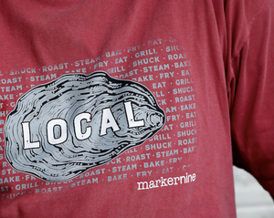 Oyster Eat Local Short Sleeve T-Shirt