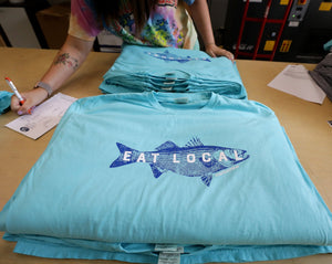 Fish Eat Local Short Sleeve T-Shirt